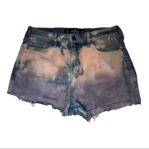 Hollister High Rise Super Skinny Muted Tie-Dye 26